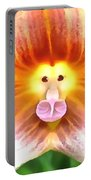 Floral Monkey Pink Yellow And Red Portable Battery Charger