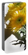 Floral No4 Portable Battery Charger
