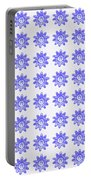 Floral Pattern 2 Portable Battery Charger