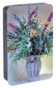 Floral  Piece Portable Battery Charger