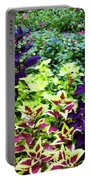 Floral Print 005 Portable Battery Charger