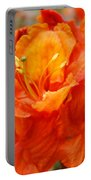 Floral Rhodies Art Prints Orange Rhododendrons Canvas Art Baslee Troutman Portable Battery Charger