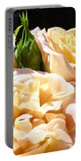 Floral Roses Garden Art Prints Baslee Troutman Portable Battery Charger