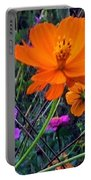 Floral Show Portable Battery Charger