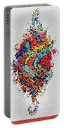 Floral Splash 2 Portable Battery Charger