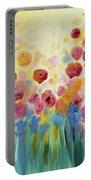 Floral Splendor II Portable Battery Charger