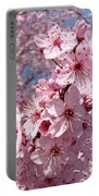 Floral Spring Art Pink Blossoms Canvas Baslee Troutman Portable Battery Charger