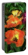 Floral Spring Tulips 2017 Pa 02 Vertical Portable Battery Charger