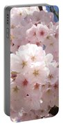 Floral Tree Blossoms Flowers Pink Art Baslee Troutman Portable Battery Charger