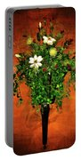 Floral Wall Arrangement Portable Battery Charger