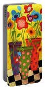 Floralicious Portable Battery Charger