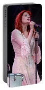 Florence Welch Singer Of Florence And The Machine Performing Live - 002 Portable Battery Charger