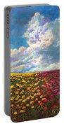 Flores De Mexico Portable Battery Charger