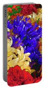Flores Y Lilas Portable Battery Charger