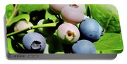 Florida - Blueberries - On The Bush Portable Battery Charger