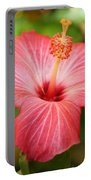 Florida Hibiscus Portable Battery Charger