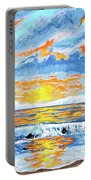 Florida Keys Beach Sunset Portable Battery Charger
