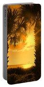 Florida Orange Portable Battery Charger