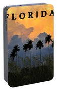 Florida Poster Portable Battery Charger
