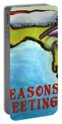 Florida Seasons Greetings Portable Battery Charger