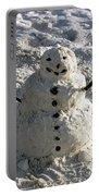 Florida Snowman Portable Battery Charger