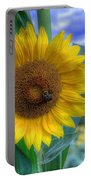 Flower # 37 Portable Battery Charger