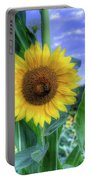 Flower # 38 Portable Battery Charger