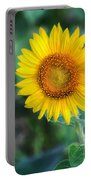 Flower #43 Portable Battery Charger