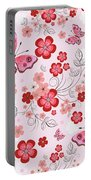 Flower And Butterfly Bj01 Portable Battery Charger
