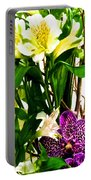 Flower Arrangement 1 Portable Battery Charger