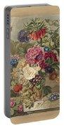 Flower Arrangement, Anthonie Van Den Bos, 1778 - 1838 B Portable Battery Charger