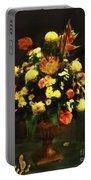 Flower Arrangement Portable Battery Charger