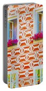 Flower Boxes In Slavonice Portable Battery Charger