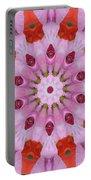 Flower Burst Portable Battery Charger