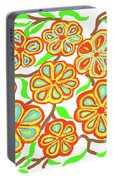 Flower Carnival Portable Battery Charger