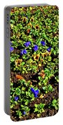 Flower Carpet. Sochi Arboretum. Portable Battery Charger