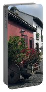 Flower Cart Old Antigua Portable Battery Charger