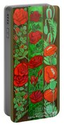 Flower Composition 4 Portable Battery Charger