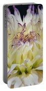 Flower Dahlia. Macro Portable Battery Charger