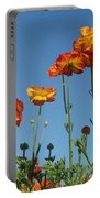 Flower  Dance Portable Battery Charger