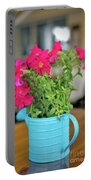 Flower Decoration Portable Battery Charger