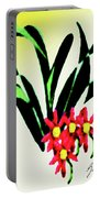 Flower Design #2 Portable Battery Charger