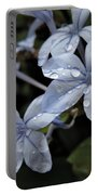 Flower Droplets Portable Battery Charger