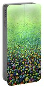 Flower Field Riot Portable Battery Charger