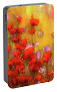 Flower Fields Of Summer Portable Battery Charger
