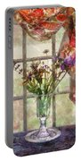 Flower - Flower - A Vase Of Flowers  Portable Battery Charger