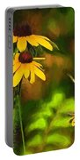 Flower Friends Portable Battery Charger