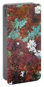 Flower Garden In The Rust Portable Battery Charger