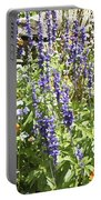 Flower Garden Portable Battery Charger