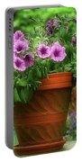 Flower Garden Pot Portable Battery Charger